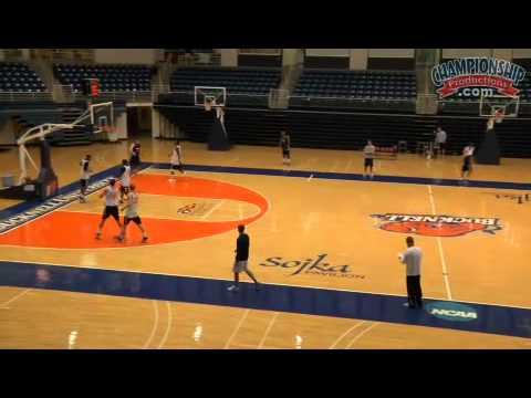 Basketball Drills 3 Lane Sureness