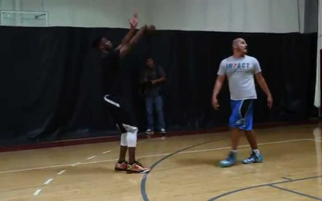 Emmanuel Mudiay Working Out
