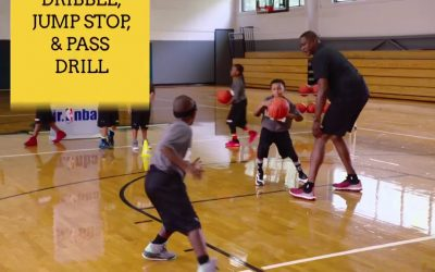 Dribble, Jump Stop and Pass Drill