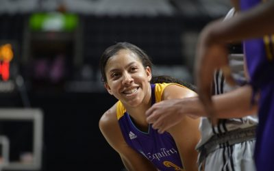 Candace Parker Works Out to Get in Shape for Life in the WNBA