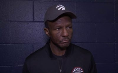 Dwane Casey Teaches the Defensive Stance