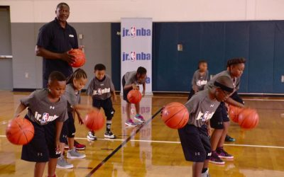 Front to Back Dribble Drill